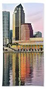 Tampa Bay Alive With Color Beach Towel