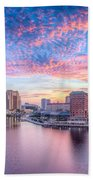 Tampa Bay Sunrise Beach Towel