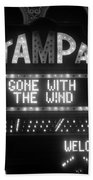 Tampa Theatre 1939 Beach Towel