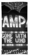 Tampa Theatre Gone With The Wind Beach Towel