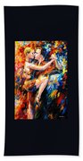 Tango Of Love   Beach Towel