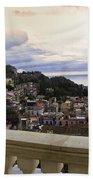 Taormina Balcony View 2 Beach Sheet