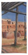 Taos Pueblo Beach Towel