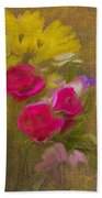 Tapestry Bouquet Beach Towel
