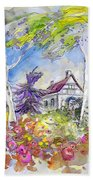 Tarbes 05 Beach Towel