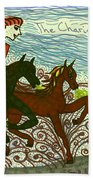 Tarot Of The Younger Self The Chariot Beach Towel