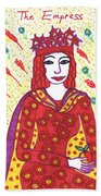 Tarot Of The Younger Self The Empress Beach Sheet