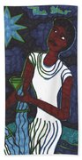 Tarot Of The Younger Self The Star Beach Towel