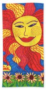 Tarot Of The Younger Self The Sun Beach Towel