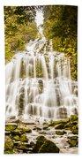 Tasmanian Waterfalls Beach Towel