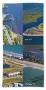 Taste Of Topsail Beach Towel