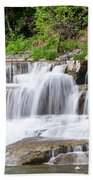 Taughannock Falls Sp 0462 Beach Towel