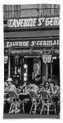 Taverne St. Germain, Paris Beach Towel