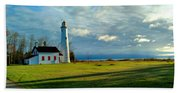 Sturgeon Point Lighthouse Beach Towel