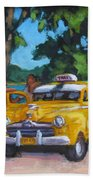 Taxi Y Amigos Beach Towel