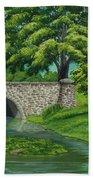 Taylor Lake Stone Bridge Beach Sheet