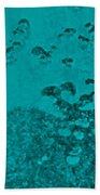 Teal Waters Beach Towel