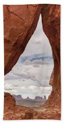 Teardrop Arch Monument Valley Beach Towel