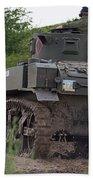 Tearing It Up - M3 Stuart Light Tank Beach Towel