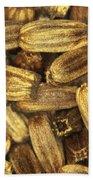 Teasel Seeds Beach Towel
