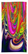 Technicolor Magma Beach Towel