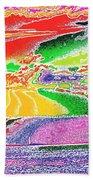 Technicolor Sunset Beach Towel