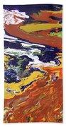 Tectonic Beach Towel