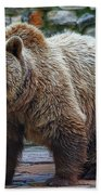 Teddy Bear Alive Beach Towel