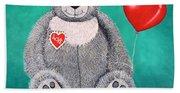 Teddy Bear Eli Beach Sheet