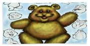 Teddy Bear Beach Towel