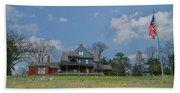 Teddy Roosevelts House - Sagamore Hill Beach Sheet
