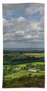 Tees Plain And Roseberry Topping Beach Towel