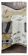 Telecaster Guitar Fantasy Beach Towel