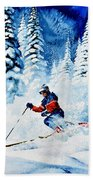 Telemark Trails Beach Towel