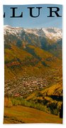 Telluride Colorado Beach Towel by David Lee Thompson