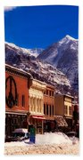 Telluride For The Holiday Beach Towel