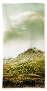 Temperate Alpine Terrain Beach Towel