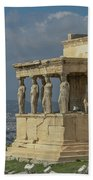 Temple Of Athena Beach Towel