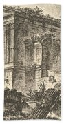 Temple Of Clitumnus Between Foligno And Spoleto  Beach Towel