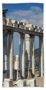 Temple Of Trajan View 3 Beach Towel