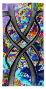 Tendril Tango Beach Towel