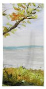 Tennessee River In The Fall Beach Towel