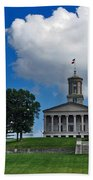 Tennessee State Capitol Nashville Beach Towel