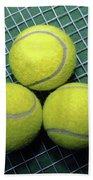 Tennis Anyone Beach Towel