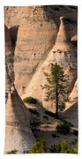 Tent Rocks Wilderness Beach Towel