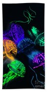 Tentacle Dance  Beach Towel