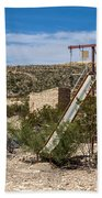 Terlingua Ghost Town #5 Beach Towel