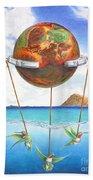 Tethered Sphere Beach Sheet
