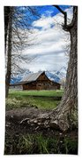 View From Mormon Row Beach Towel by Scott Read