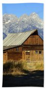 Teton Barn 4 Beach Towel